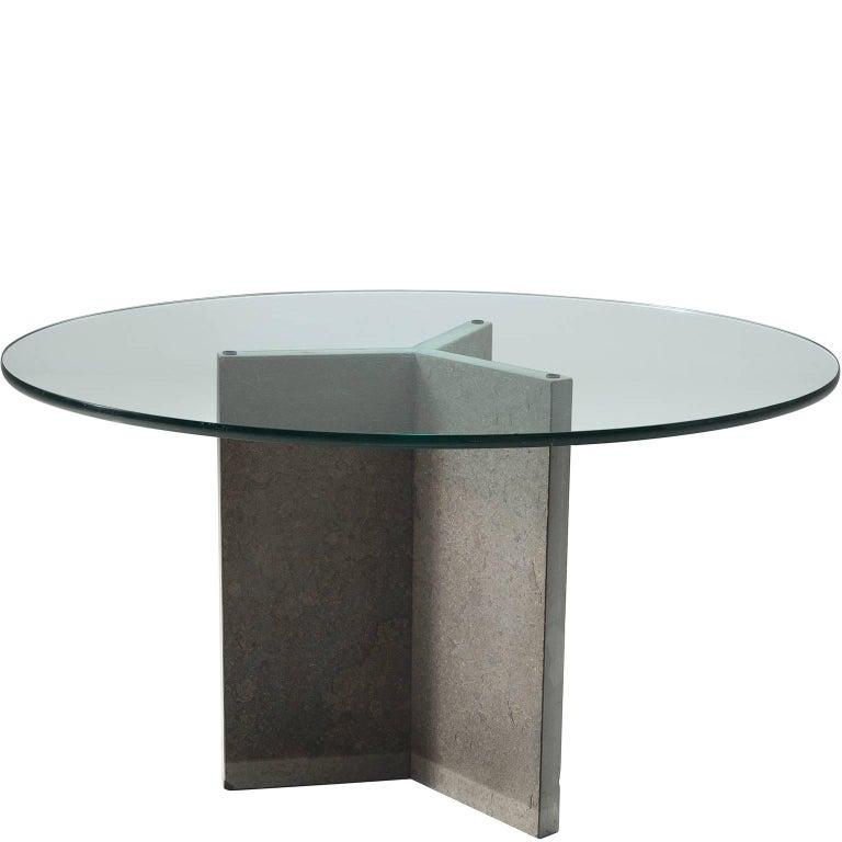 Italian Pedestal Centre Table, circa 1970