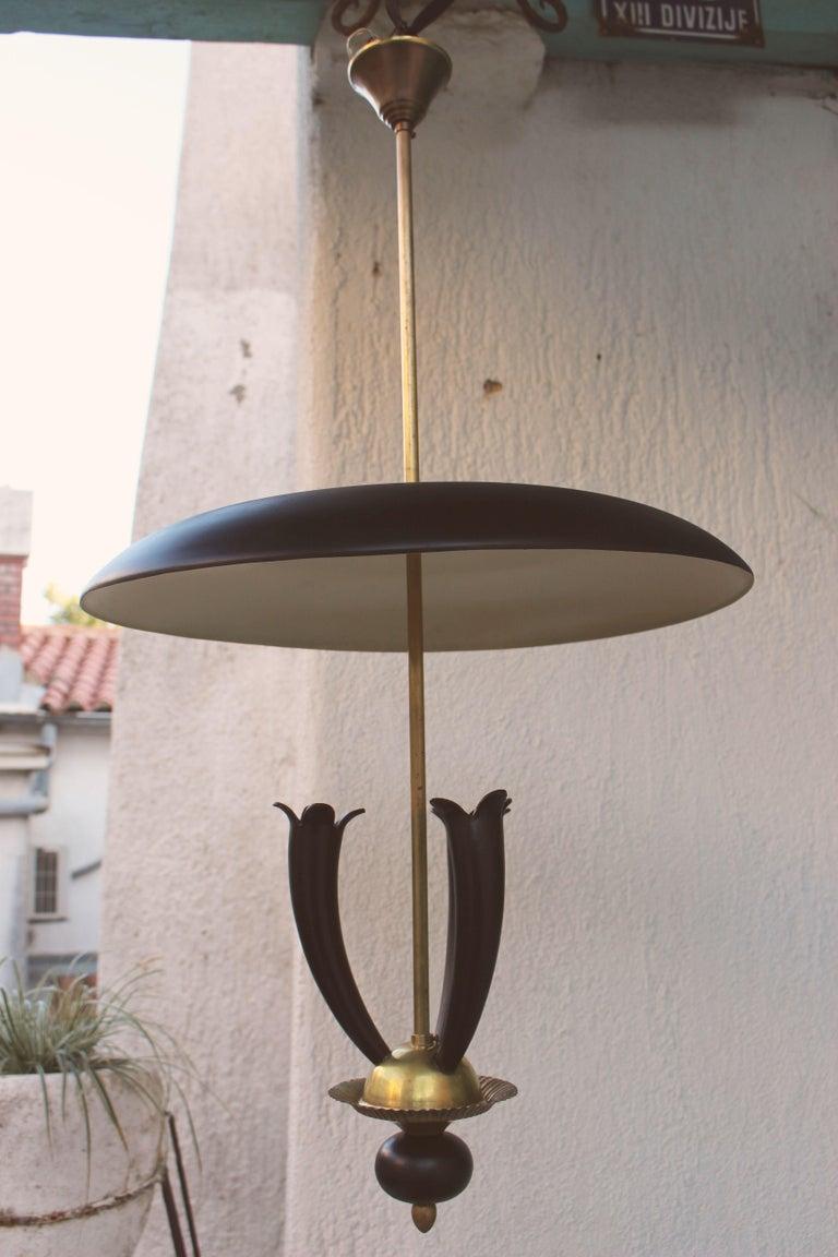 Italian Pendant Attributed to Guglielmo Ulrich For Sale 2
