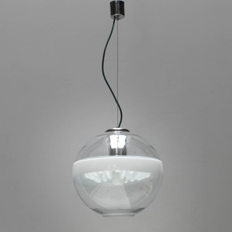 Italian Pendant by Toni Zuccheri for Venini In Good Condition For Sale In JM Haarlem, NL