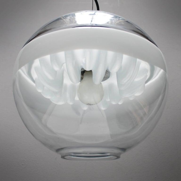 Italian Pendant by Toni Zuccheri for Venini For Sale 1