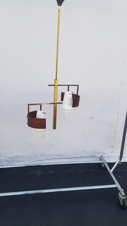Brass Italian Pendant  For Sale