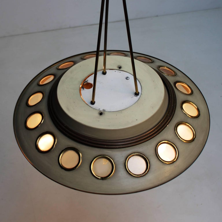 Italian Pendant Lamp by Lumen Milano In Good Condition For Sale In JM Haarlem, NL