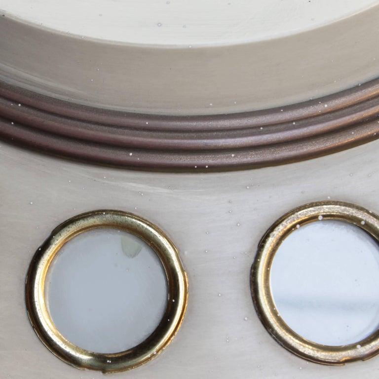 Metal Italian Pendant Lamp by Lumen Milano For Sale