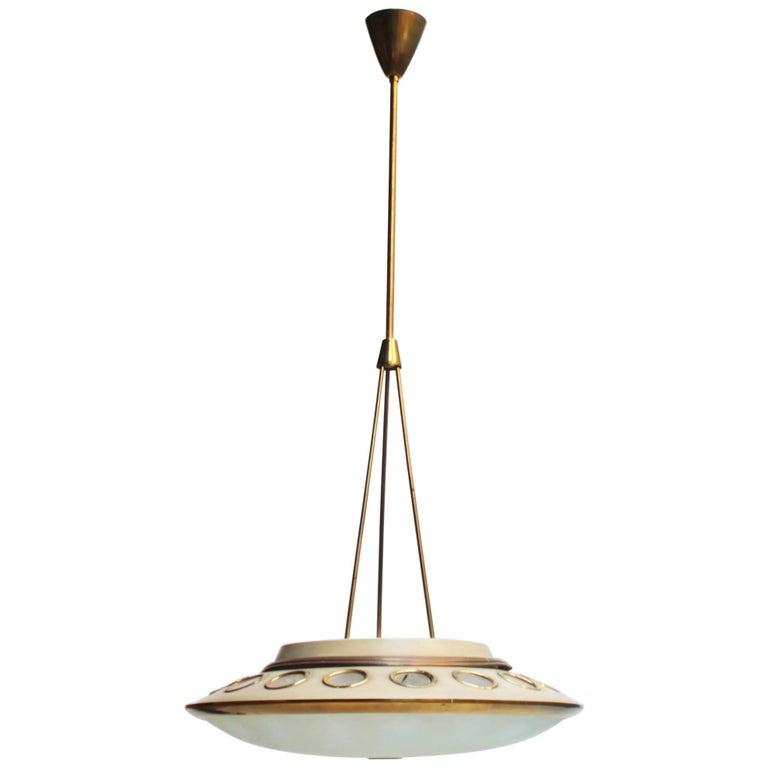 Italian Pendant Lamp by Lumen Milano For Sale