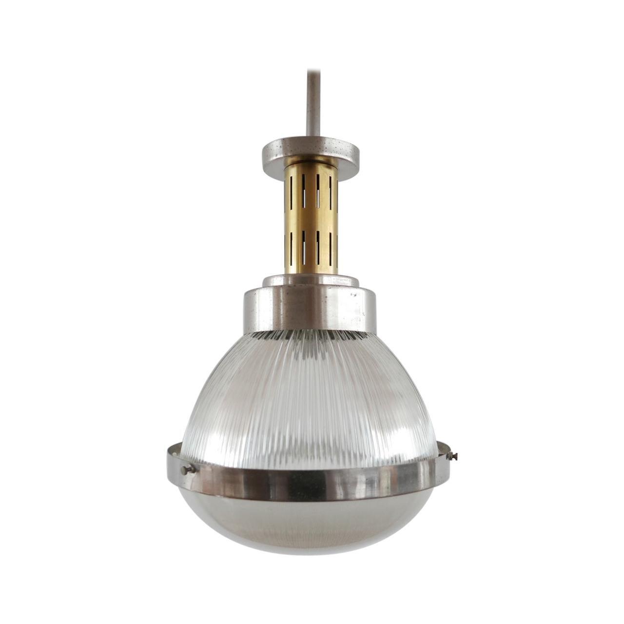 Italian Pendant Light Attributed to Ignazio Gardella