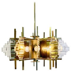 Italian Pendant Light by Sciolari