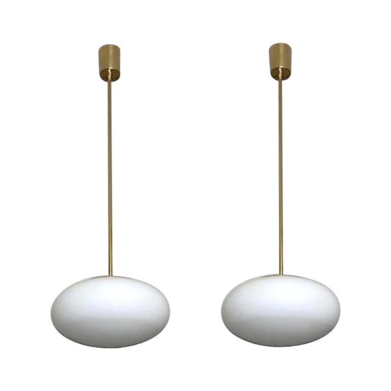 Italian Pendant Lights For Sale