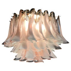 Italian Petals Chandelier Ceiling Light, Murano