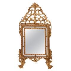 Italian Piedmontese Giltwood Mirror, circa 1780