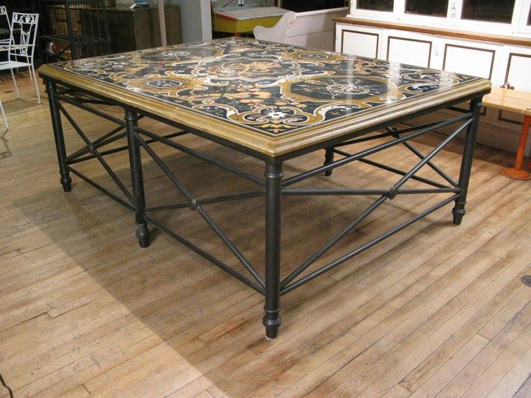 20th Century Italian Pietra Dura Table For Sale