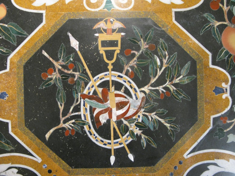 Italian Pietra Dura Table For Sale 2