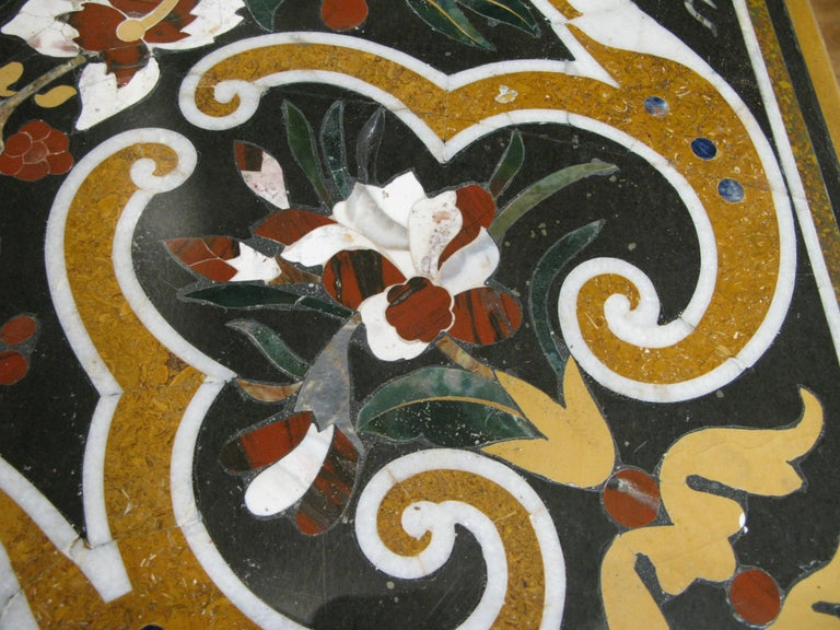 Italian Pietra Dura Table For Sale 3