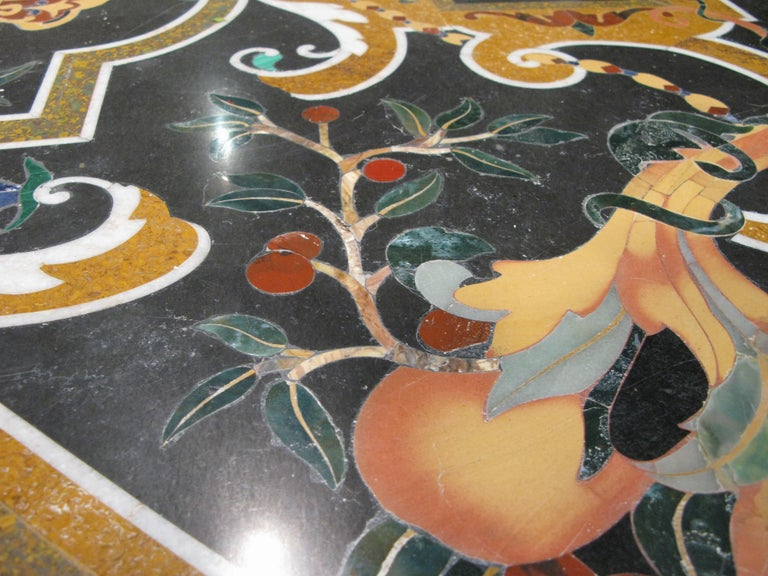 Italian Pietra Dura Table For Sale 4