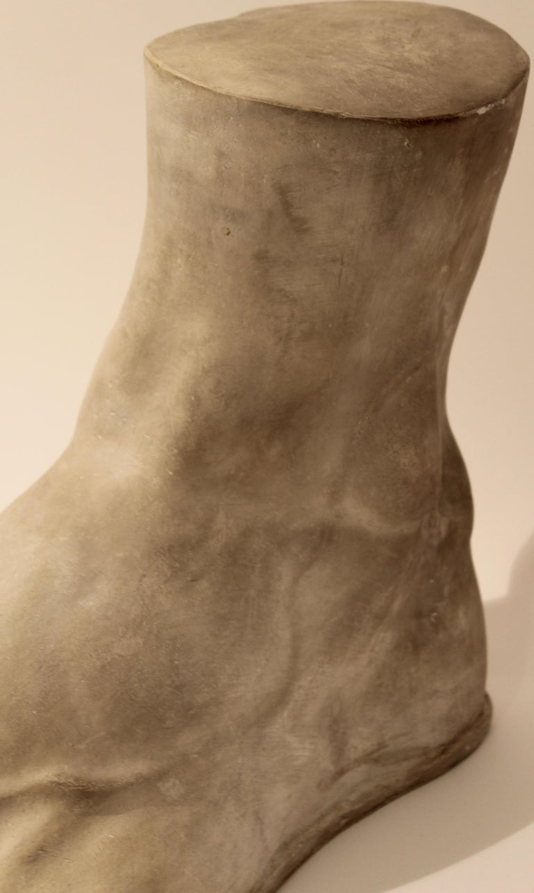 Italian Plaster Cast of the Foot of the Emperor Constantine, circa 1950 For Sale 1