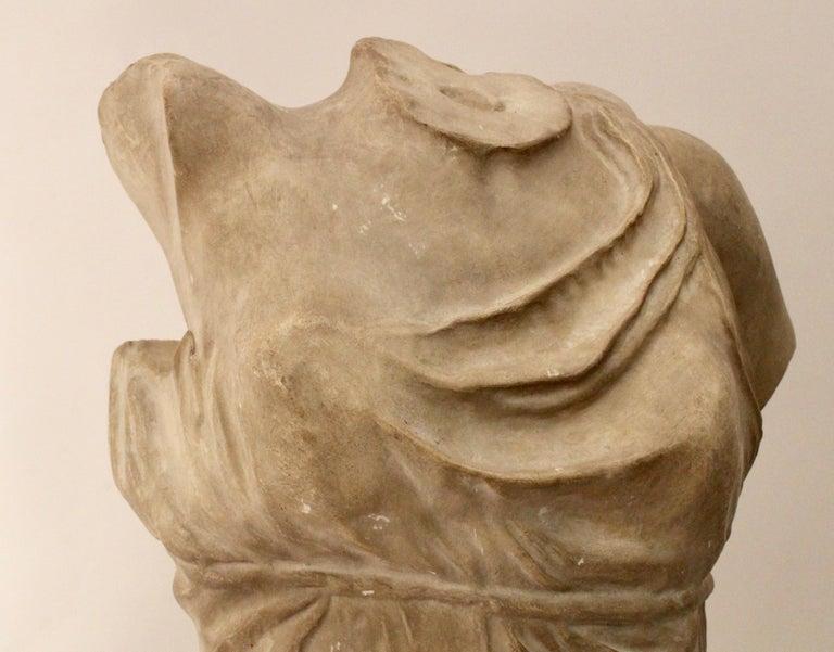Italian Plaster Sculpture of NIKE of Samothrace, circa 1950 For Sale 3