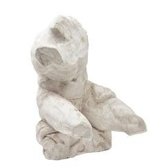 "Italian Plaster Sculpture of ""The Belvedere Torso,"" circa 1930"