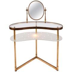 Italian 'Polka Dot' Vanity (Dressing Table), 1950s