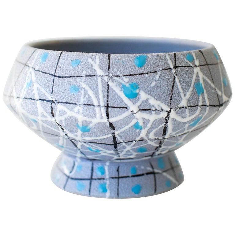 Italian Pottery Fratelli Fanciullacci Bowl For Sale