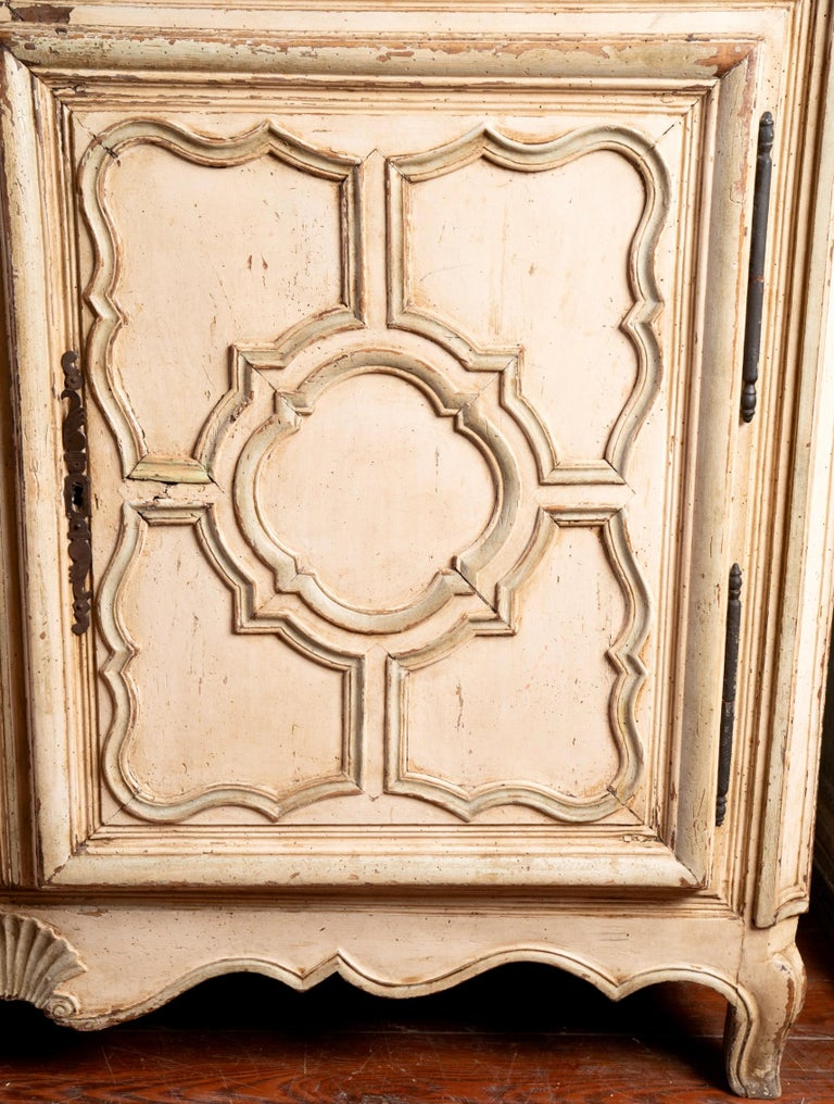 Beautifully carved and painted Tuscan buffet.
