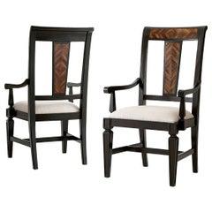 Italian Provincial Dining Arm Chair