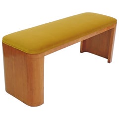 Italian Rationalist Bench, Italy, 1940s