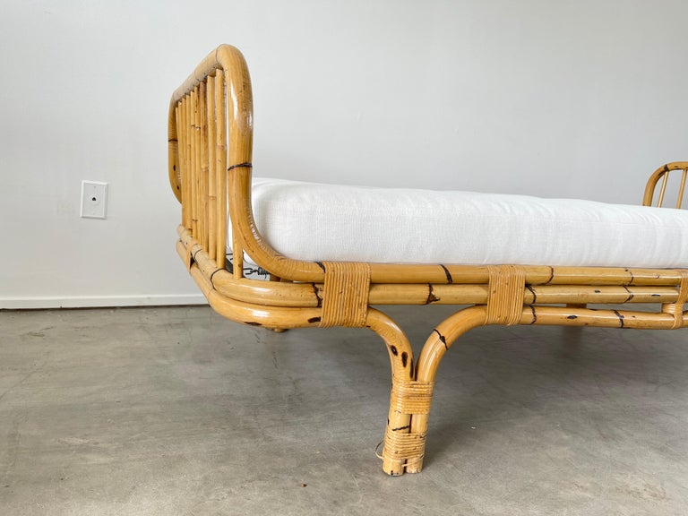 Italian Rattan Daybed For Sale 1