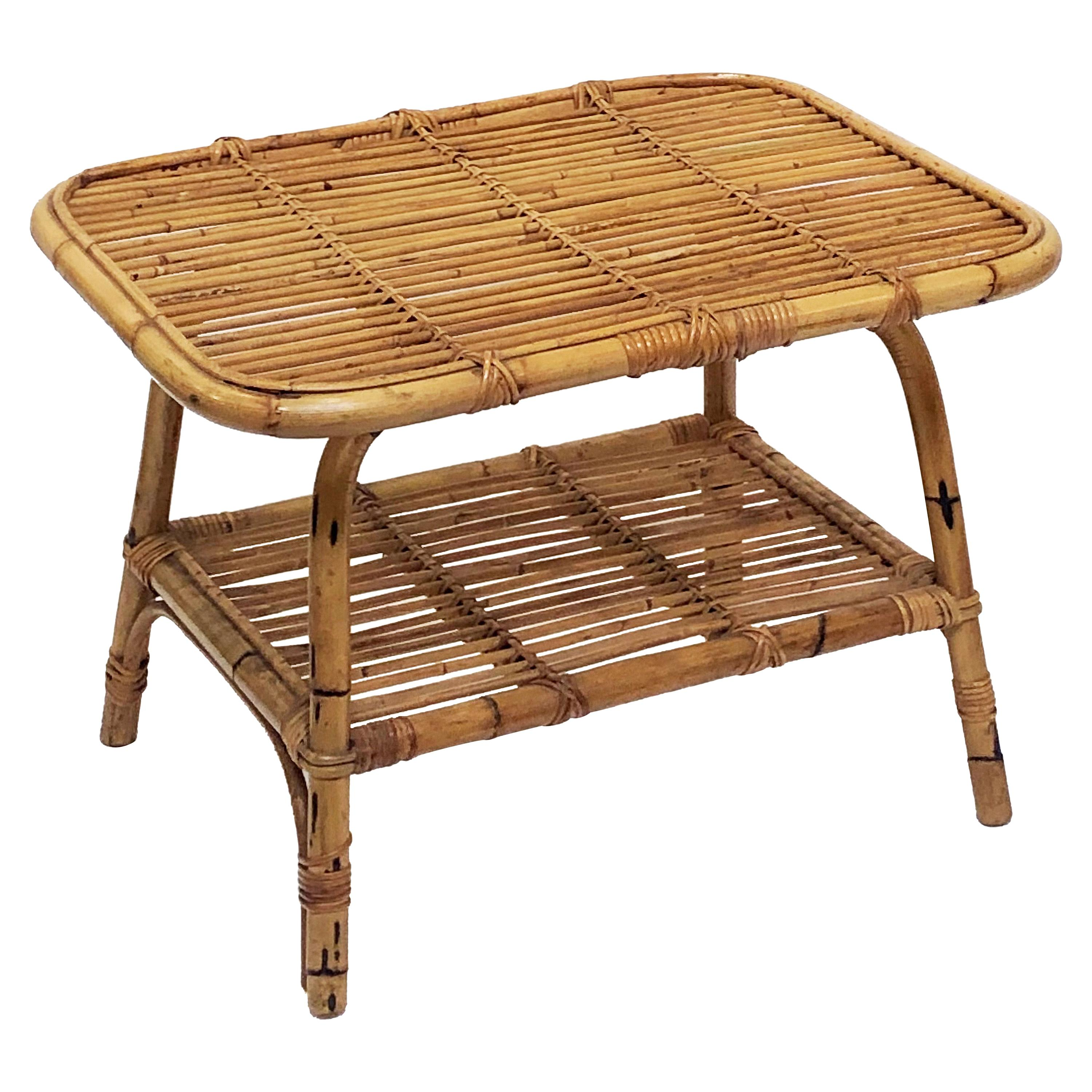 a552962e3 Bamboo Side Tables - 161 For Sale at 1stdibs
