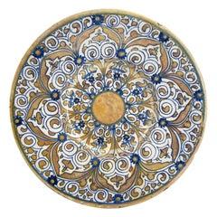 Italian Renaissance Maiolica Deruta Lustre Dish