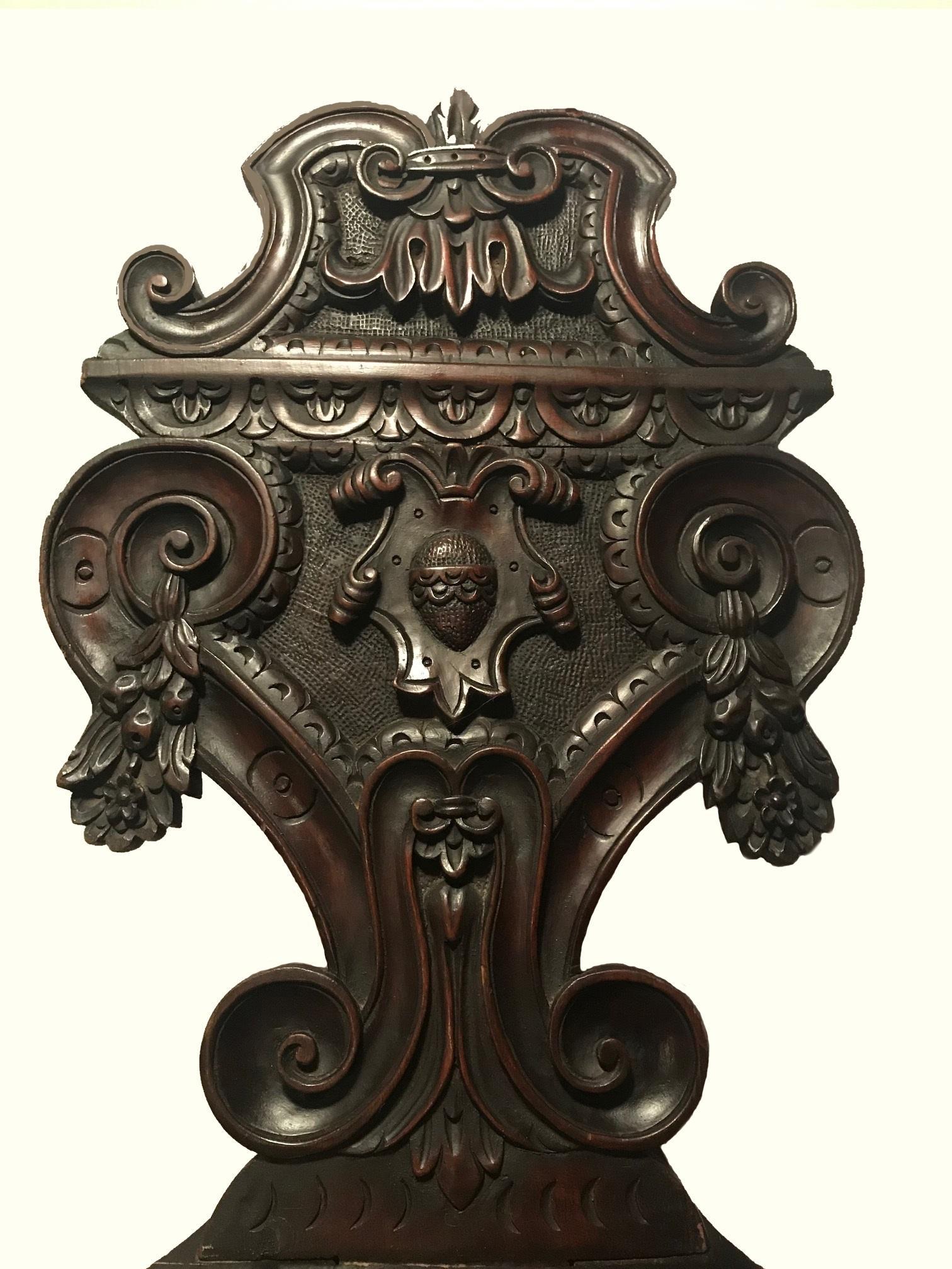 Chaircirca Sgabello Italian Renaissance Revival 1870 CeQWrdBxEo