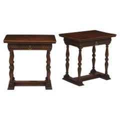 Italian Renaissance Side Tables