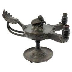 Italian Renaissance Style Bronze Lamp
