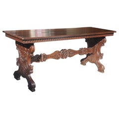 Italian Renaissance Style Walnut Refectory Table