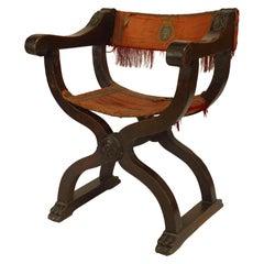 Italian Renaissance Walnut Armchair