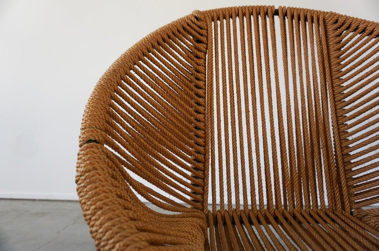 Italian Rope Chairs For Sale 5