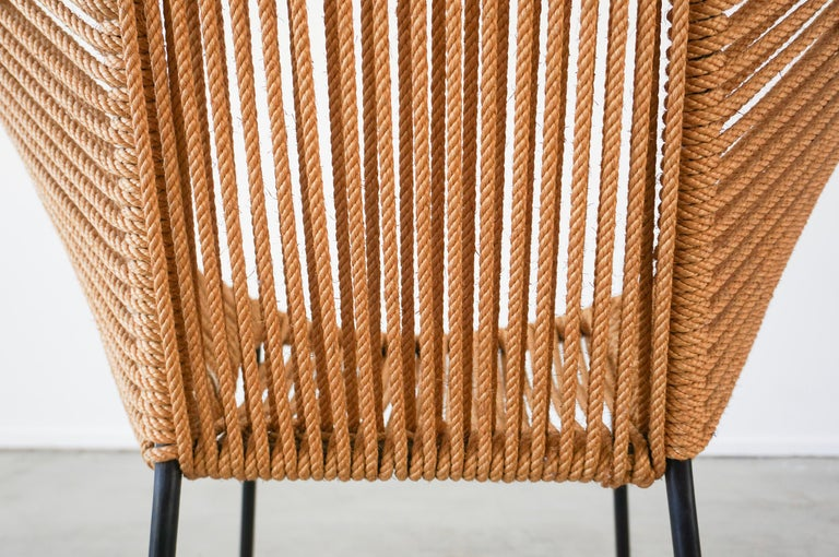 Italian Rope Chairs For Sale 9