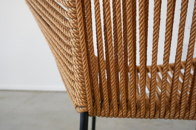 Italian Rope Chairs For Sale 10