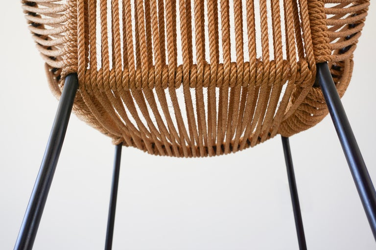 Italian Rope Chairs For Sale 11