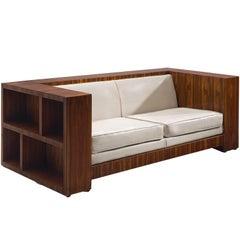 Italian Rosewood Sofa, circa 1965