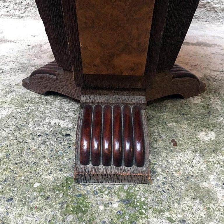 Italian Round Briar Table, Designed by Pierluigi Colli, 1940s For Sale 2