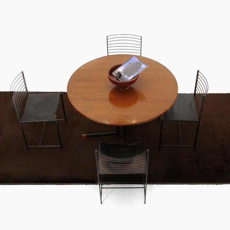 Italian Round Top Table, 1950s 5