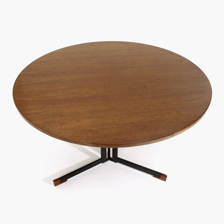 Italian Round Top Table, 1950s In Good Condition In Savona, IT