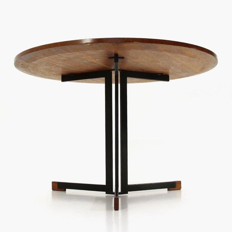 Italian Round Top Table, 1950s 1