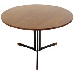 Italian Round Top Table, 1950s