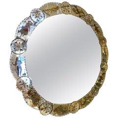 Italian Round Venetian Mirror