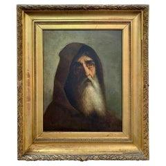"""Italian School, 17th Century, Follower of José De Ribera """"Saint Francis of Pado"""""""