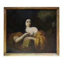 "Italian School 17th Century "" Magdalene """
