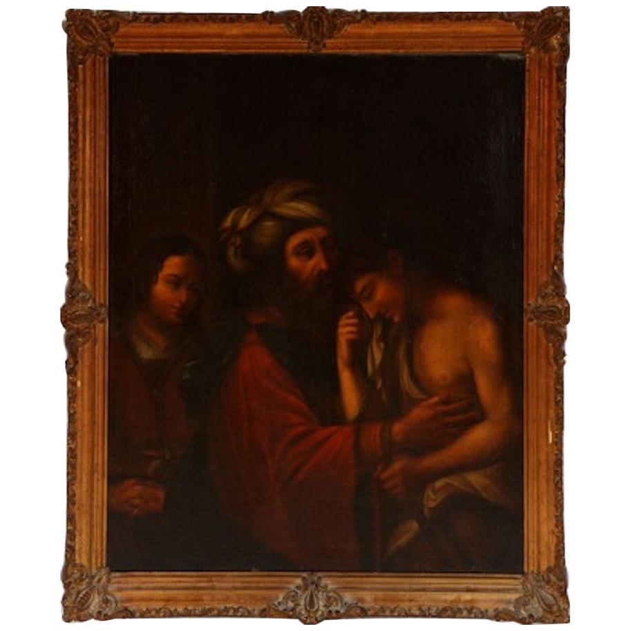 Italian School, 18th Century The Good Samaritan, Unsigned