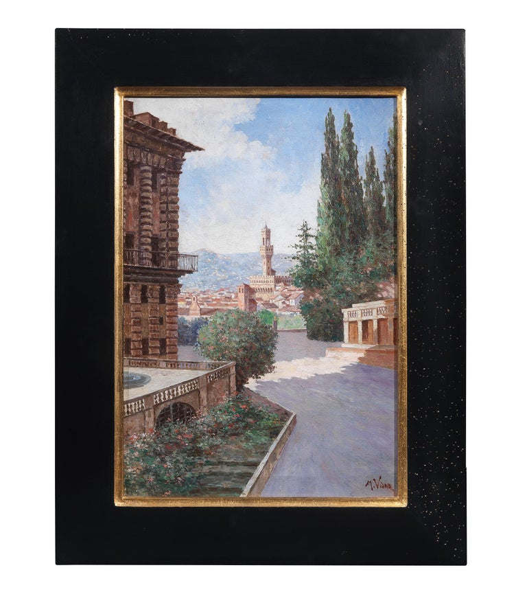 Painted Italian School, 20th Century For Sale