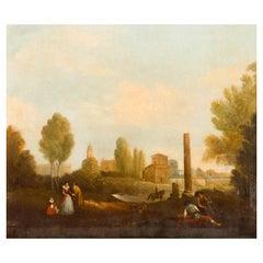 "Italian School ""Landscape"", 19th Century"