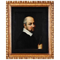 "Italian School of the 17th Century ""Portrait Painter"""